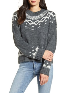 cupcakes and cashmere Jasmine Fair Isle Pullover