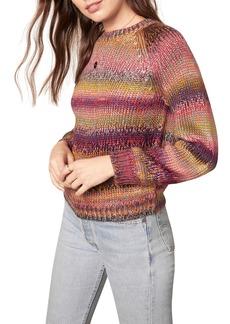cupcakes and cashmere Jupiter Stripe Raglan Sweater