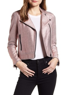 cupcakes and cashmere Knit Moto Jacket