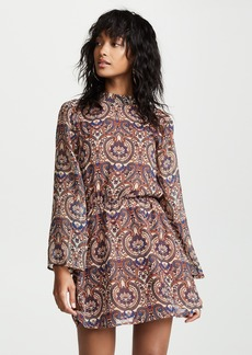 cupcakes and cashmere Malory Star Paisley Dress