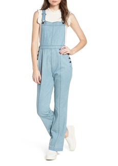 cupcakes and cashmere Meliani Denim Overalls