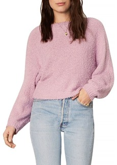 cupcakes and cashmere Perri Boucl� Rib Knit Dolman Sweater