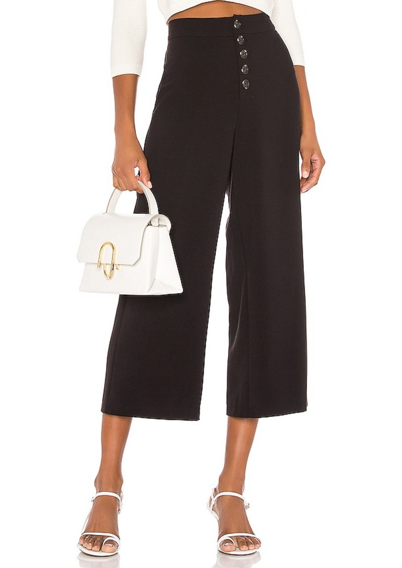 cupcakes and cashmere Riga High Waisted Suiting Culotte