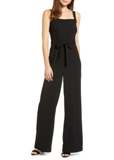 cupcakes and cashmere Sleeveless Crepe Jumpsuit