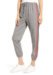 cupcakes and cashmere Stella Check Jogger Pants