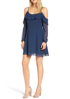 cupcakes and cashmere Sundra Cold Shoulder Dress