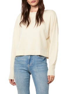 cupcakes and cashmere Suzie Wool & Cashmere Crop Sweater