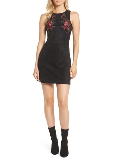 cupcakes and cashmere Valet Embroidered Minidress