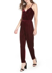 cupcakes and cashmere Velvet Jumpsuit