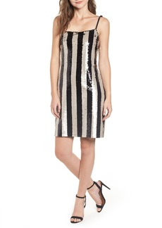 cupcakes and cashmere Vertical Sequin Stripe Dress