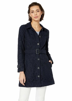 cupcakes and cashmere Women's Aldean lace Trench