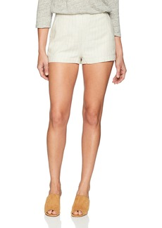 cupcakes and cashmere Women's Alta Striped Linen Short