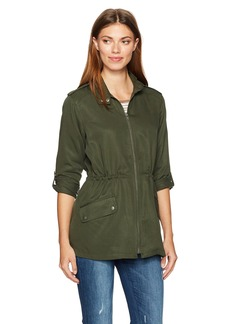 cupcakes and cashmere Women's Belize Military Jacket