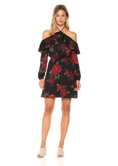 cupcakes and cashmere Women's Boden Printed Off The Shoulder Dress