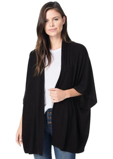 cupcakes and cashmere Women's bregan Brushed Knot Dolman Sleeve Cardigan  Extra Small