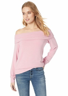 cupcakes and cashmere Women's Brooklyn Off The Shoulder Sweater