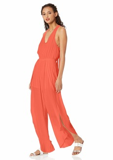 cupcakes and cashmere Womens Chandra Crepejumpsuit W//Tie Belt