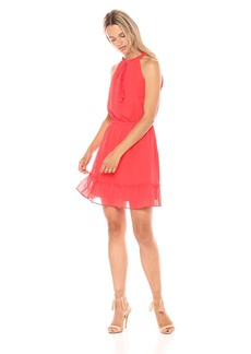 cupcakes and cashmere Women's Damien Tassle Detail Fit and Flare Dress