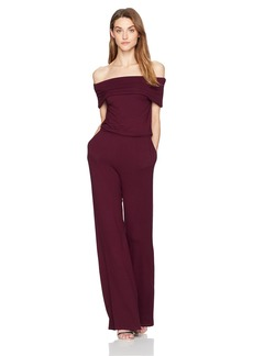 cupcakes and cashmere Women's Farida Off The Shoulder Jumpsuit