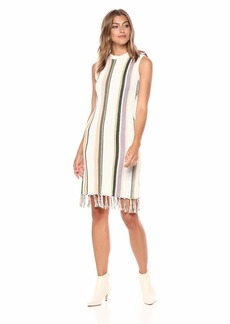 cupcakes and cashmere Women's Leandra Striped Sweater Dress