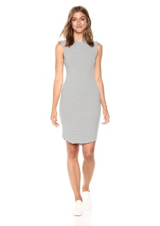 cupcakes and cashmere Women's Lorena Striped Knit Dress
