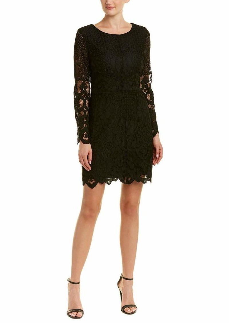 cupcakes and cashmere Women's Makenna Fitted Lace Dress  6