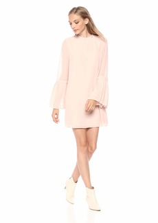cupcakes and cashmere Women's Malina Pleat Detail Shift Dress