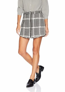 cupcakes and cashmere Women's Marni Herringbone A-Line Skirt