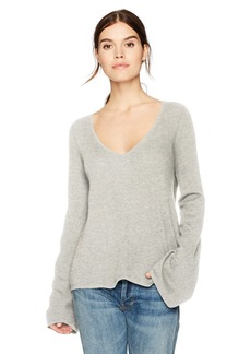 cupcakes and cashmere Women's Marylee Cashmere V-Neck Sweater