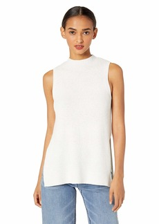 cupcakes and cashmere Women's Remmi Ribbed Sweater Tank with Lurex