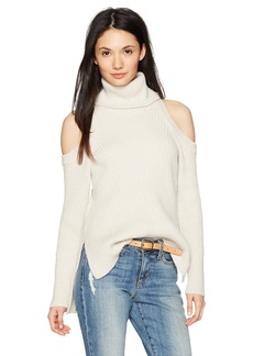 cupcakes and cashmere Women's Rodell Cold Shoulder Sweater