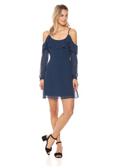 cupcakes and cashmere Women's sundra Cold Shoulder Dress