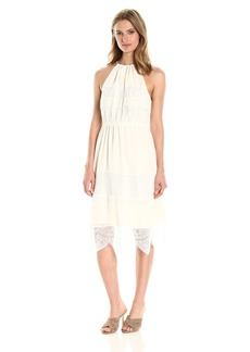 cupcakes and cashmere Women's Tamika Lace Midi Dress