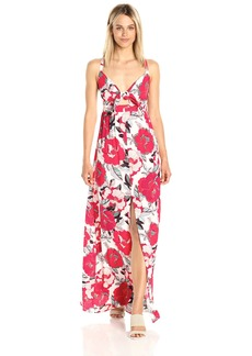 cupcakes and cashmere Women's Thorpe Floral Printed Maxi Dress