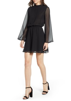 cupcakes and cashmere Zurie Bell Sleeve Dress
