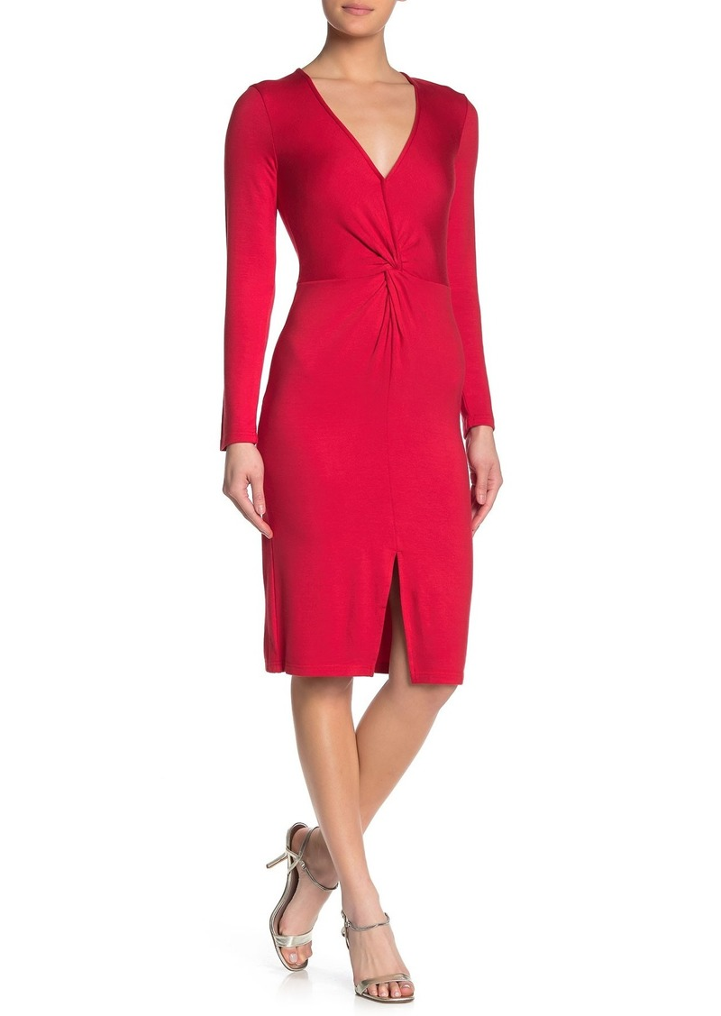 cupcakes and cashmere Janette Front Cinched Dress