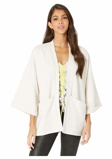 cupcakes and cashmere Maybach Rib Sleeve Kimono Jacket