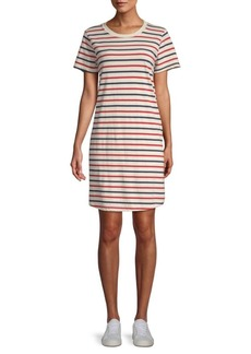 Current/Elliott Beatnik Striped Cotton Dress