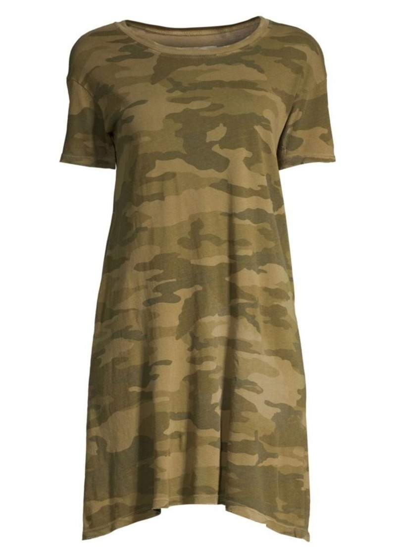 Current/Elliott Camouflage T-Shirt Dress