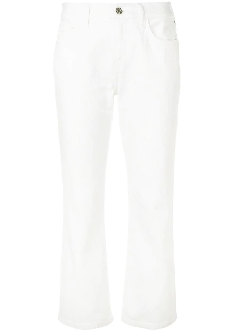 Current/Elliott cropped bootcut jeans