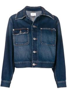 Current/Elliott cropped denim jacket