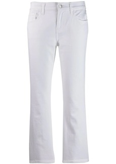 Current/Elliott cropped flare jeans