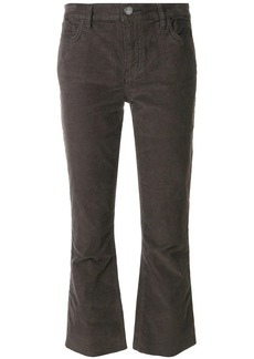 Current/Elliott cropped flared jeans