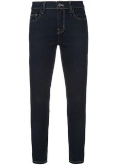 Current/Elliott cropped skinny jeans