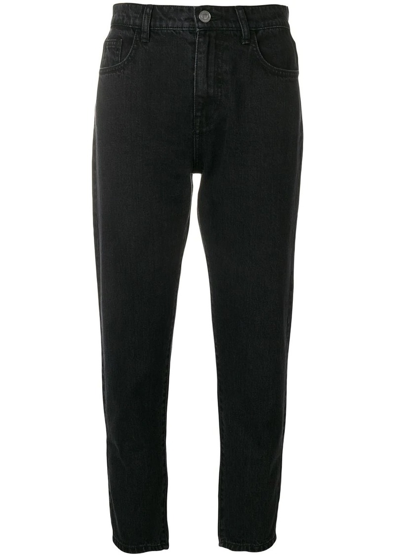 Current/Elliott cropped slim jeans