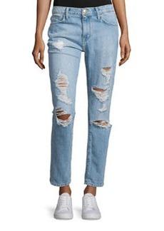 Current/Elliott The Fling Distressed Ankle Jeans