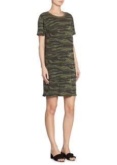 Current/Elliott Beatnik Camo T-Shirt Dress