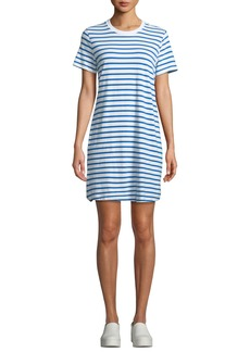 Current/Elliott Beatnik Striped Crewneck Tee Dress