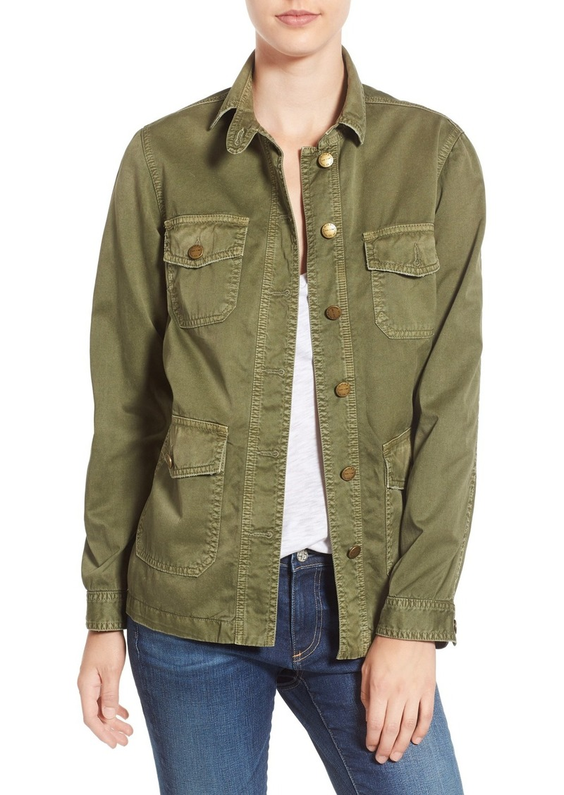 Current/Elliott 'Commander' Military Jacket
