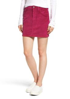 Current/Elliott Corduroy Miniskirt